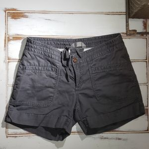 The North Face linen cotton hiking shorts TNF